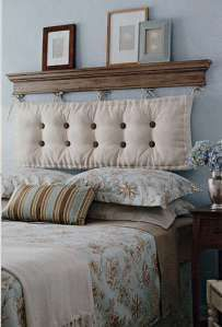 DIY Headboard Ideas - AGlez  *Possible head board ideas for spare bedroom*