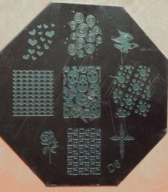 Nail Stamping Plate D6 from Fashion Disaster 101