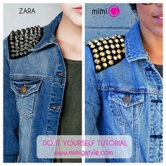 DIY TUTORIAL!! No Sewing Machine Needed! Zara Inspired Jacket