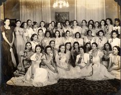 Pictures that are priceless...Marian Anderson with her AKA Sorority Sisters, New Orleans 1940