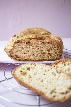 Low Carb Köstlichkeiten, Low Carb Bread, Keto Bread, Low Carb Recipes, Bread Recipes, Healthy Recipes, Law Carb, Mediterranean Dishes, Pumpkin Recipes
