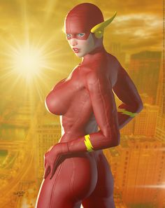 The Flash 'Sunset City' Series by PaulSuttonArt on DeviantArt Hq Marvel, Marvel Dc Comics, Batgirl, Supergirl, Comic Books Art, Comic Art, Manga Sexy, Super Heroine, Hq Dc