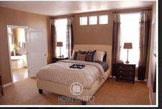 model home dream room beige bedroom