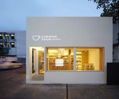 Minimalist 'Common Room' cafe by p/s/d - about design world