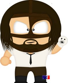 Mankind 2 by spwcol Ecw Wrestling, Wwe Champions, South Park, Caricature, Baby Boy, Iron Gates, Deviant Art, Anime, Cartoons