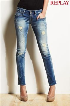Replay® Radixes Light Wash Skinny Jean