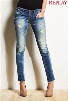 Replay® Radixes Light Wash Skinny Jean