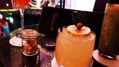 Stimulating: The Flower Cocktail at Chandelier Bar At Cosmopolitan Las Vegas: The Verbena AKA the Flower Drink at Cosmopolitan Las Vegas