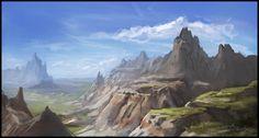 Badlands by *samburley on deviantART