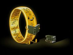 The One Ring gets to the end of The Lord of the Rings