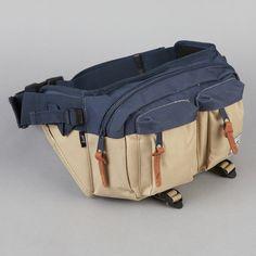Herschel Eighteen Bag Navy / Khaki Herschel Bag, Range Bag, Chest Rig, Tote Backpack, My Bags, Mini Bag, Fashion Bags, Leather Handbags, Backpacks