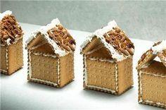 Χριστουγεννιάτικα σπιτάκια από μπισκότα πτι-μπερ!