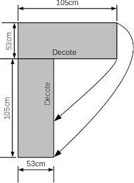 Resultado de imagem para poncho de trico com grafico