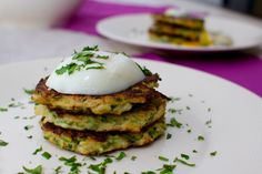 falafel-flavoured zucchini fritters - use baking soda (not baking powder) for whole30.  double the cumin
