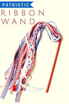 DIY Patriotic Wand | Party DIY - Craft. Bake. Create. Celebrate. - Community on Google+
