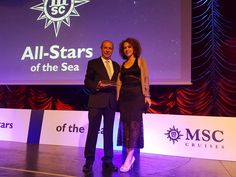 MSC Cruises Honors Sales Rep Top Kinisis.