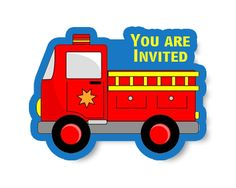 #MyBirthdaySupplies - #Firefighter Theme #Invitation ideas for your Birthday Bash