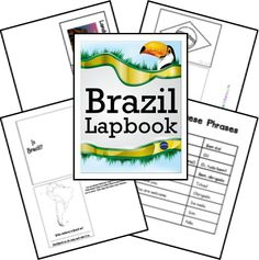 Free Homeschool Curriculum, Homeschool Freebies, Homeschool Deals, How to… Worksheets For Kids, Activities For Kids, Brazil Country, Free Homeschool Curriculum, Homeschooling, Learn Brazilian Portuguese, Portuguese Lessons, Maps For Kids, My Father's World