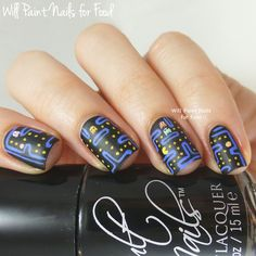 31 Day Nail Art Challenge 2.0: Day Eight, Dotticure by Will Paint Nails for Food