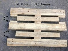 Building furniture from pallets – instructions - Pallet Furniture Project Outdoor Furniture Plans, Building Furniture, Pallet Furniture, Diy Pallet Projects, Pallet Ideas, Wood Projects, Pallet Sofa, Hallway Decorating, Wooden Pallets
