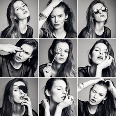 Roxy by Aleksandra Zaborowska, via Behance