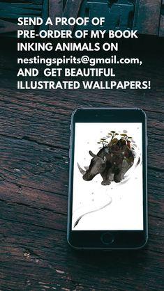 Illustration Techniques, Paintings, Studio, Artist, Animals, Beautiful, Animales, Paint, Animaux