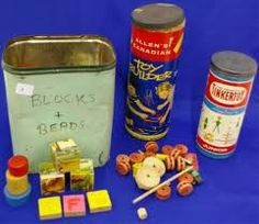Toys, 1960's Tinker Toys