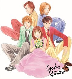 Boys Over Flowers, Yoko, Anime, Doodles, Black And White, Gallery, Cartoons, Pictures, Fictional Characters