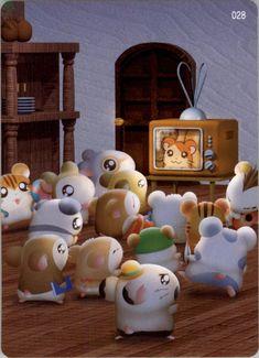 Non-Sport Trading Cards & Accessories Hamster Live, Hamtaro, Beautiful Kittens, Anime Toys, Kawaii, Me Me Me Anime, My Childhood, Cartoon Characters, Anime Art