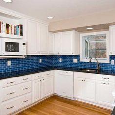Blue Kitchen Tile 2 x 4 glass subway tile aqua gleam g007 – backsplash tiles