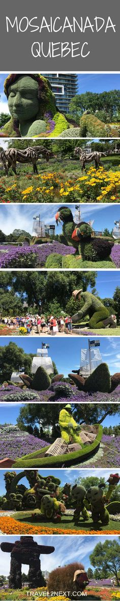 MosaiCanada 150 - Enchanted Garden in Canada. One of the most impressive things you'll see in Canada this year is the garden artistry at MosaiCanada 150.