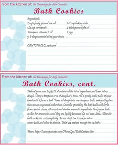 baths, diy bath, beauti diy, diy beauti, bath cookierecip, cookies, cookie recipes, bath time, winter diy
