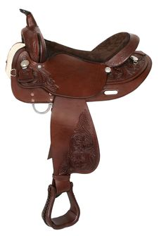 colorful pictures of western saddles   6813 Eagle Pass Trail Saddle High Horse (Western Saddles - Trail)