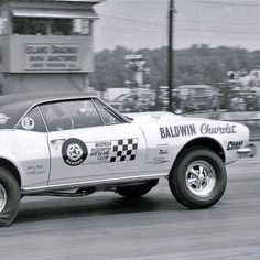 Baldwin Motion Camaro at Island Dragway
