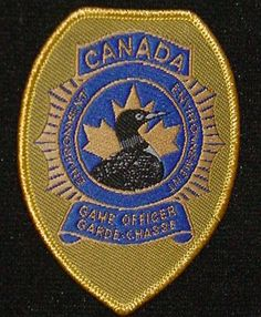 Canada Game Officer badge patch
