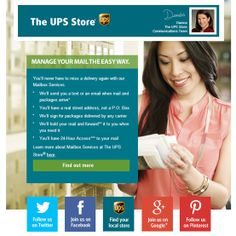 Manage Your Mail The Easy Way With The UPS Store.