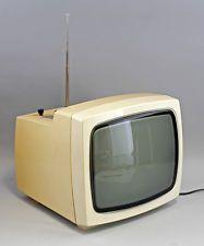 DDR Kofferfernseher mit Radio Combi-Vision 310/36 ca. 1975 VEB Robotron 25070019