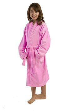 Terry Kid's Hooded Robe, Cotton Cover Ups -- Continue to the product at the image link. We are a participant in the Amazon Services LLC Associates Program, an affiliate advertising program designed to provide a means for us to earn fees by linking to Amazon.com and affiliated sites.