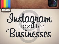 Tips on Using Instagram for Your Business Follow the link for FREE Instagram training ==>http://teri802nj.instabizbuilder.com/