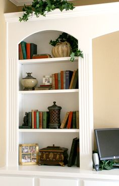 bookcase arrangement
