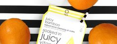juicy bamboo natural cleansing oil cloths - kaia naturals