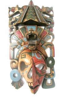 Made to Order Pyramid Warrior Mayan Mask von TheFantasticAztec