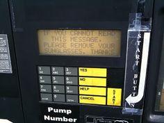 Passive Aggressive Gas Station