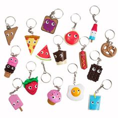 yummy breakfast keychains not just for kids available at