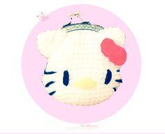 Monedero Hello Kitty Amigurumi - Patrón Gratis en Español