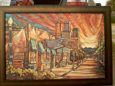 The Buffett,  Tucson AZ- SOLD 24x36 osd #lisakanouseart http://lisakanouse.wordpress.com