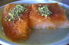 Knaffeh - I grew up with this.  So delicious and brings back memories