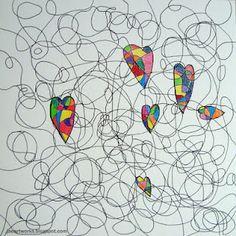 love in the scribbles