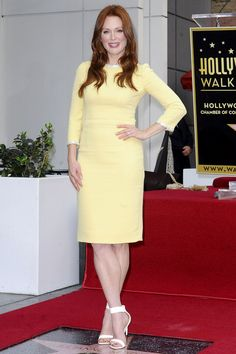 Julianne Moore is honoured with a star on the Hollywood Walk of Fame in Los Angeles. Photo By Rex Features