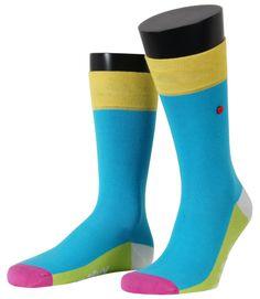 Unabux Socken bieten farbenfrohe Designs gepaart mit bestem Tragekomfort. Alle Socken bestehen aus 80% Baumwolle, 17% Polyamid und 3% Elasthan und sind langlebig und pflegeleicht. Farbe: Hellblau/Mehrfarbig. Für weitere Infos: http://www.boxxers.de/Unabux-Socke-Multi-blau-012
